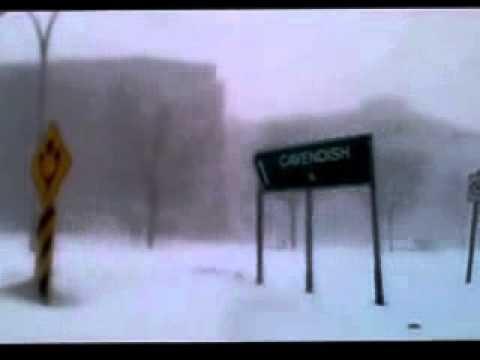 Watch Massive Snowstorm Hit Montreal