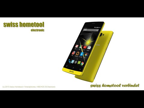 Swiss Hometool - Smartphone - Archos 50 Diamond