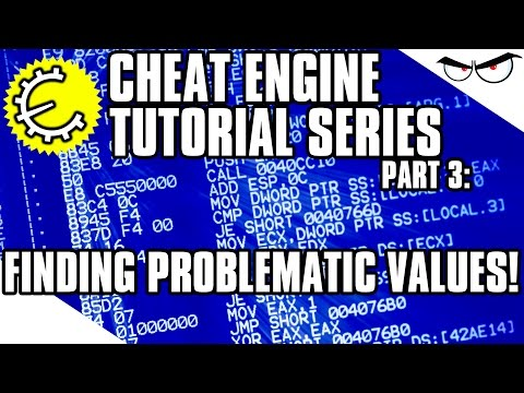 Cheat Engine 6.4 Tutorial Part 3: Finding Problematic Values