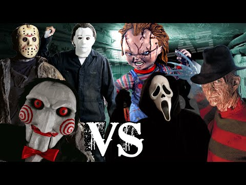 Chucky Vs Jason Vs Freddy | www.pixshark.com - Images ...  Freddy Krueger Vs Jason Vs Chucky Vs Scream Vs Michael