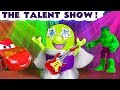 Funny Funlings Talent Show - Has Cars McQueen or Hulk got talent - New Rockstar Funling TT4U