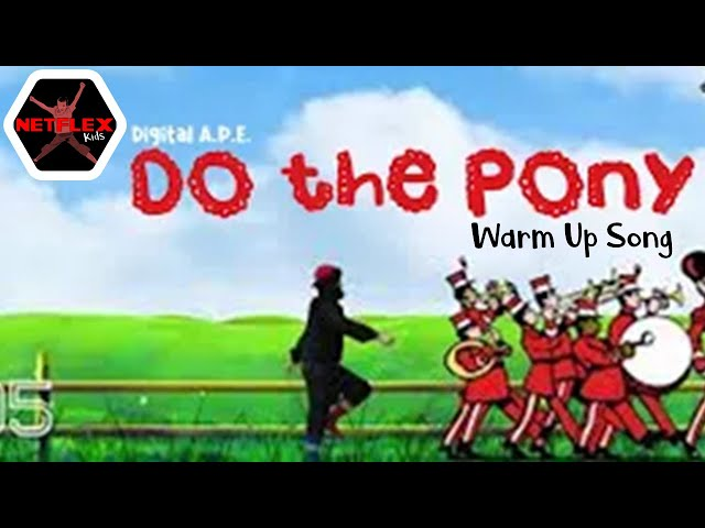 "Digital A.P.E.: DO THE PONY (Greg & Steve ""The Movement Medley"") Video Model"