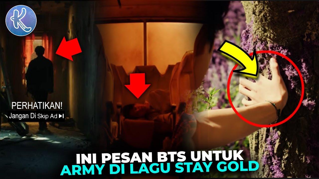 Terpecahkan! Ternyata ini Pesan Tersembunyi dan Makna Lagu BTS Stay Gold Yang Tak Banyak Army Tau