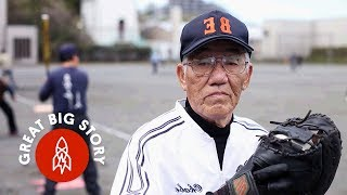 In Japan, Seniors Step Up to Bat