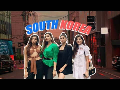 SEOUL, SOUTH KOREA! | VLOG Part 1 | Malvika Sitlani