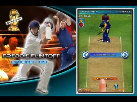 Freddie Flintoff Cricket On Iphone Gameplay