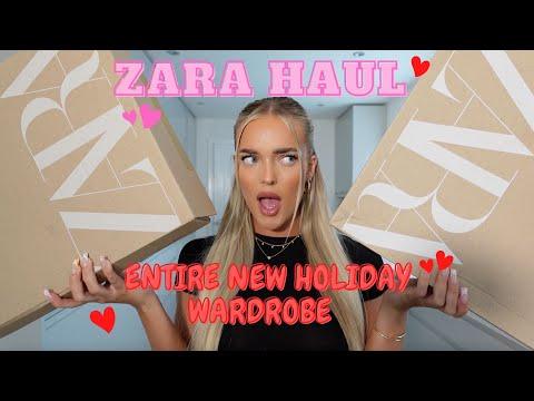 ZARA HAUL!!! ENTIRE NEW HOLIDAY WARDROBE, SUMMER ESSENTIALS