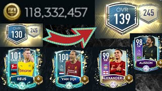 Fifa Mobile 20 l The Biggest Team Upgrade EVER! 120M+ COINS l Road to 145 - Episode 2