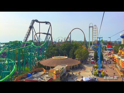 [HD] Full Cedar Point Tour: Roller Coaster Capital of the World 2017
