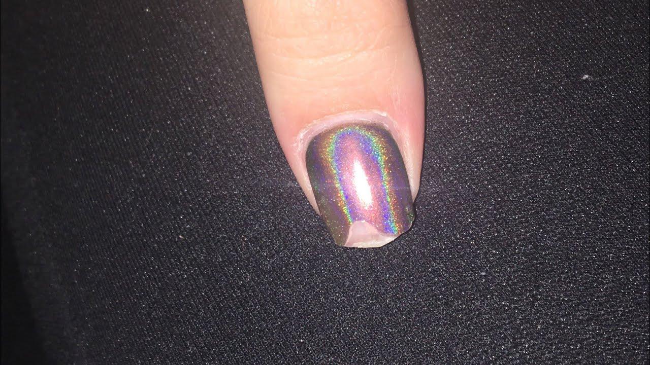 acrylic nails fix broken
