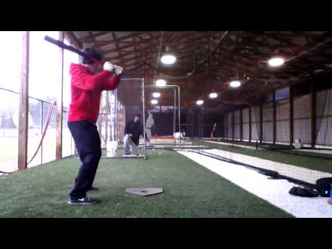 Tyler Williams - Lakeside High School - Front Toss (behind angle)