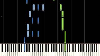 Цыганочка (пианино) [Synthesia]