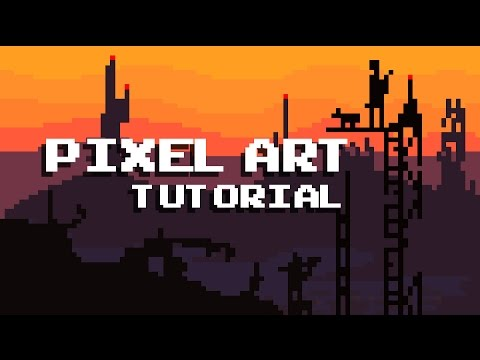 How create Pixel Art For Games - Tutorial - 8Bit Graphic Design ...