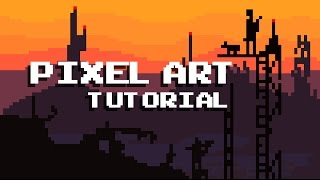 How create Pixel Art For Games - Tutorial - 8Bit Graphic Design