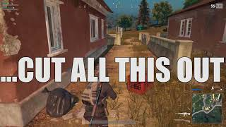 """""""...Cut all this out"""" - PUBG with Friends #3"""