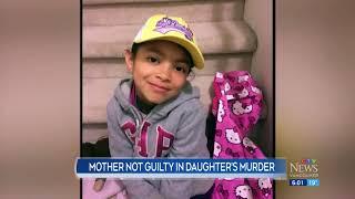 Mother not guilty in daughter's murder