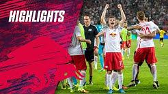 RB Leipzig feiert den ersten Bundesliga-Sieg: Leipzig - Dortmund 1:0 | RBL-Highlights