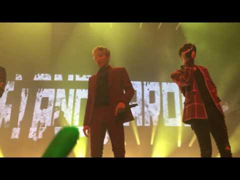 170408 B.A.P - SONG MEDLEY (HURRICANE, NO MERCY, BANGX2, DANCING IN THE RAIN, etc)  @ Party baby NYC