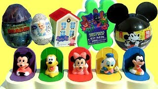 Mickey Mouse Clubhouse Pop-Up Surprise Dragon Frozen PJ Marks Peppa Baby Toys