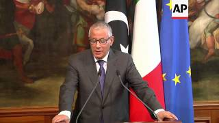 Italian and Libyan Prime Ministers comment on Egypt