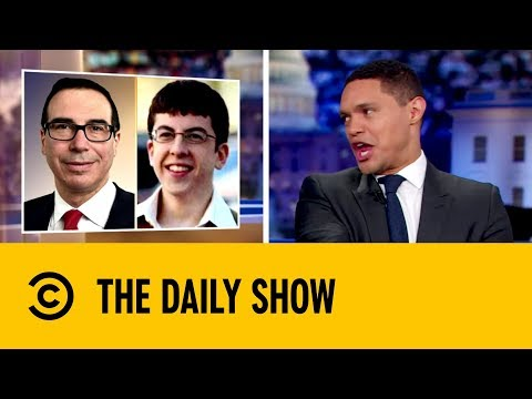 Steve Mnuchin Plays Tug-of-War With Trump's Tax Returns | The Daily Show with Trevor Noah