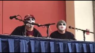 Twiztid Q & A at Rock and Shock 2015