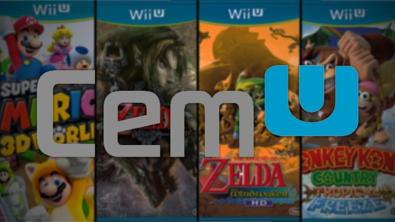 RX 480   i5-6600 CEMU 1 7 2c - WiiU Emulator (4 Games) (1080p60FPS)