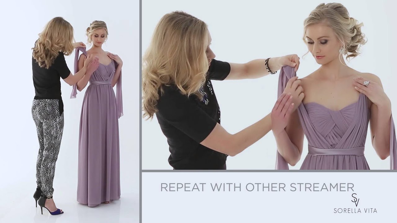 """a2c8dd2fb93 Convertible Bridesmaid Dress - """"A Little Bit Knotty"""" - Maid Your Way ..."""