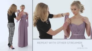 """Convertible Bridesmaid Dress - """"A Little Bit Knotty"""" - Maid Your Way"""