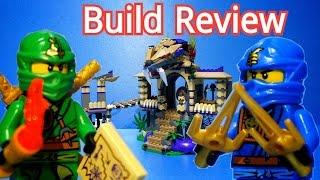 레고 닌자고 뱀의 소굴 Lego Ninjago 70749 Enter The Serpent - Build Review  티타늄닌자고