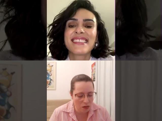 Bate-papo sobre beleza e literatura com Priscilla Aydar