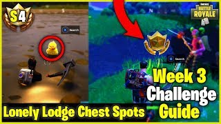 Salty Springs Treasure Map + Search Rubber Ducks S4 Week 3 Challenge Guide - Fortnite Battle Royale