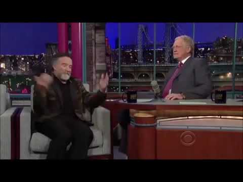Robin Williams One Of the Funniest Interviews With Letterman