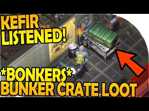 KEFIR LISTENED TO US! - *BONKERS* BUNKER CRATE LUCK! - Last Day On Earth Survival 1.7.7 Update