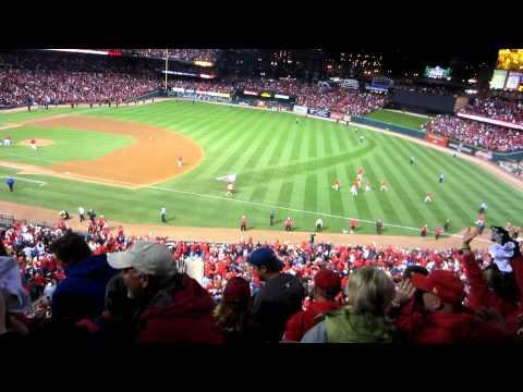 David Freese Walk-Off Home Run- World Series 2011 Game 6