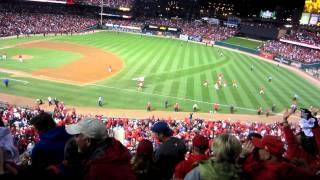 David Freese Walk-Off Home Run- World Series 2011 Game 6