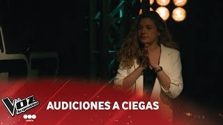 """Mercedes Rumi - """"Je veux"""" - Zaz - Audiciones a Ciegas - La Voz Argentina 2018 Video"""