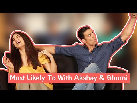 Most Likely To Challenge | Akshay Kumar & Bhumi Pednekar | MissMalini