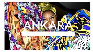 AFRICAN ANKARA FABRIC HAUL #WHERETOBUYANKARA
