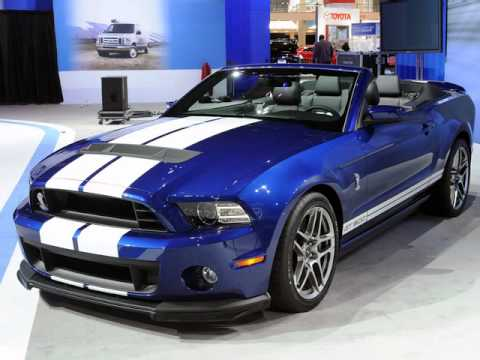 2013 ford mustang shelby gt500 convertible with 650 horsepower