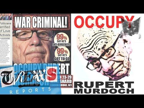 Occupy Rupert Murdoch & the Media Billionaires - Russell Brand Trews Reports (E13)