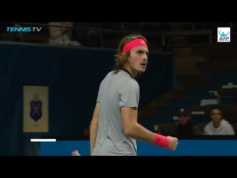 Hot Shot: Tsitsipas Hangs Tough In Stockholm 2018