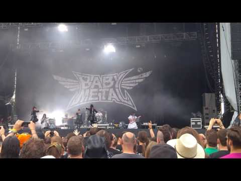 BABYMETAL, BABYMETAL DEATH, Rock in Vienna, June 2016, opening, HD, Live, Lumia950XL