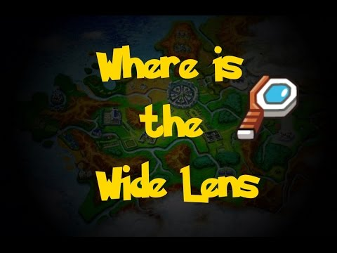 Where Is: The Wide Lens (Pokemon X/Y)