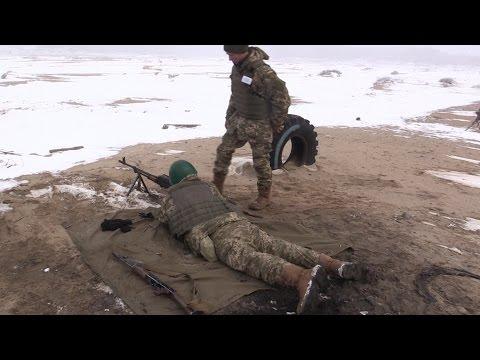 На Чернігівщині піхотинці проходять військовий вишкіл