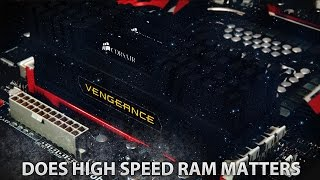 ►Does RAM Speed Matter? DDR3 1600 Mhz vs 1866Mhz Gaming Test