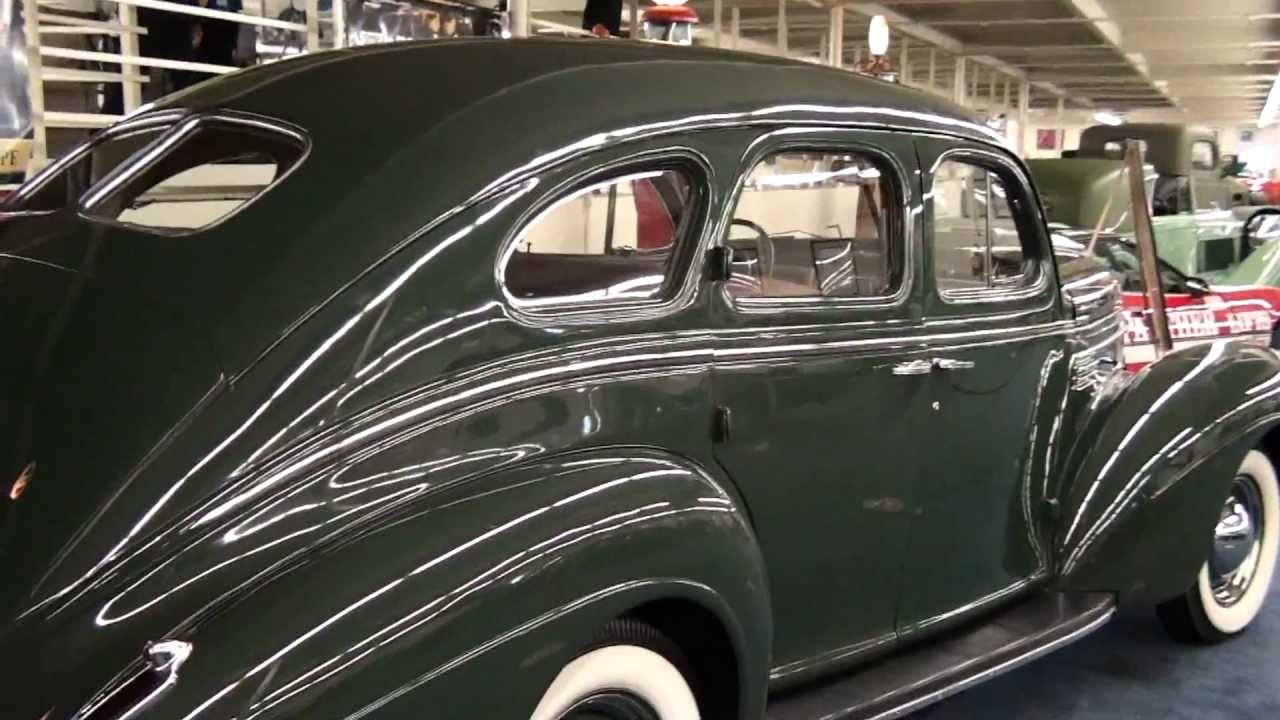 Make Your Own Car >> Johnny Carsons 1939 Chrysler Royal Sedan - YouTube