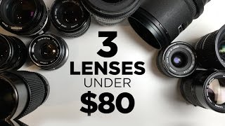 Video 3 Affordable Lenses for Video Under $80 Each! download MP3, 3GP, MP4, WEBM, AVI, FLV Juli 2018