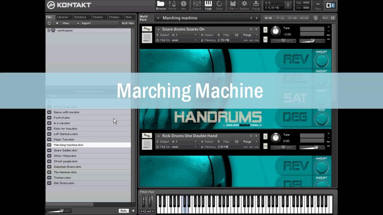 dream audio tools handrums