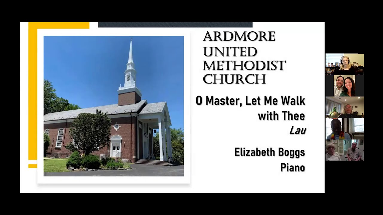 September 20th Online Worship Ardmore UMC PA